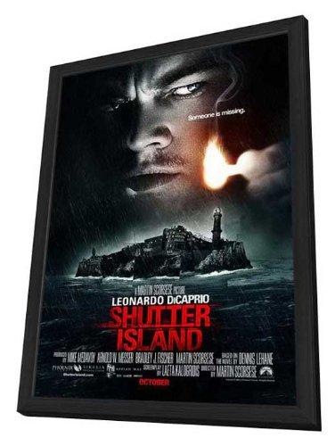 Shutter Island Framed Movie Poster