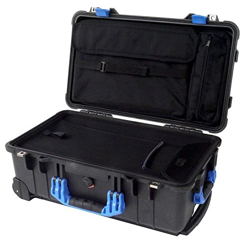 "Pelican ""Colors"" series - Black & Blue Pelican 1510LOC for sale  Delivered anywhere in USA"