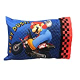 Super Mario The Race is On Reversible Pillowcase