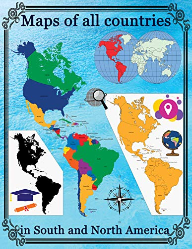 Map Of America North South And Central.Maps Of All Countries In North And South America Smart Family