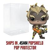 Funko Pop! Games: Overwatch - Junkrat Vinyl Figure (Bundled with Pop Box Protector Case)
