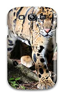 High End Case Cover Protector For Galaxy S3 Leopard Thick Tail