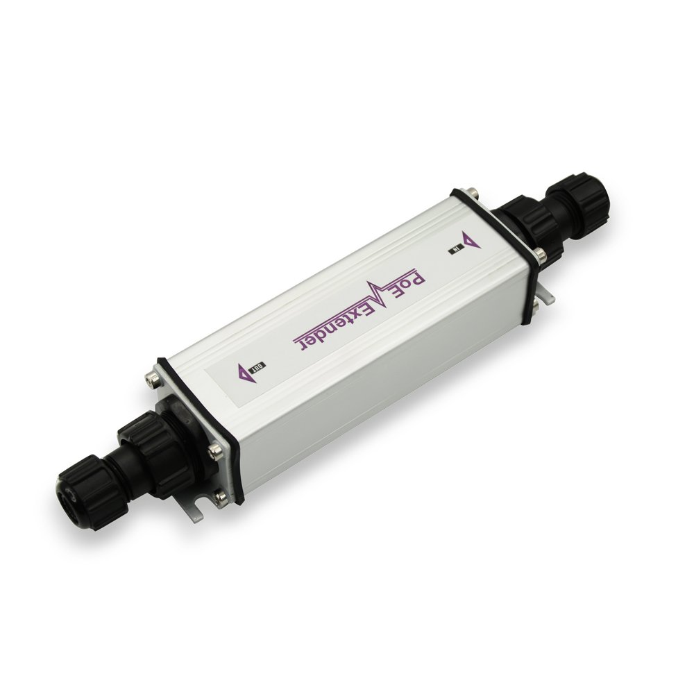 PoE Extender Outdoor | Repeat Power Over Ethernet for WLAN AP or IP Camera | IEEE802.3 af & at Compatible