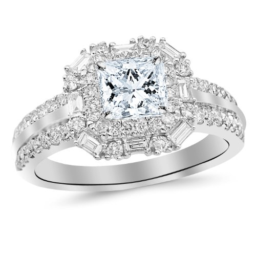 0.47 Ct Princess Diamond - 4