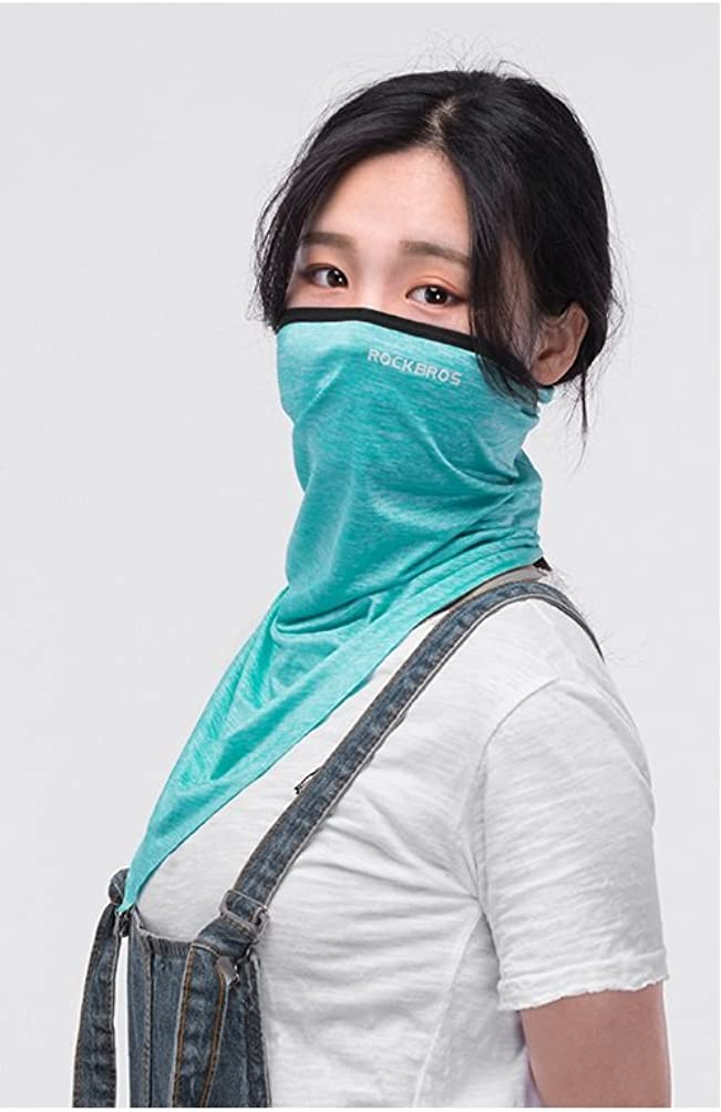 ROCKBROS UV Protection UPF50+ Half Face Mask for Outdoor Sports