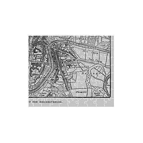 - Media Storehouse 252 Piece Puzzle of Map of The City of Durham, England Victorian Engraving, 1840 (13667301)