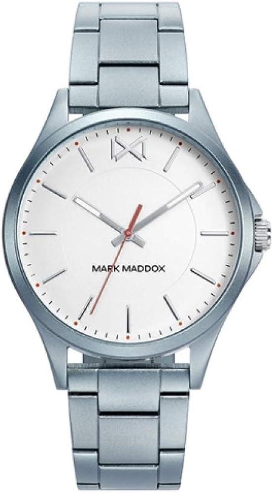 MARK MADDOX - Reloj Aluminio Celeste Grisaceo Brazalete Sra Mm - MM7121-07