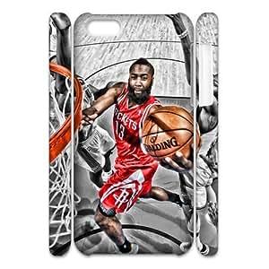 Newest Diy James Harden Apple Iphone 5C 3D Cover Case UN871443