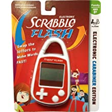 Scrabble Flash Electronic Handheld Game Carabiner Keychain