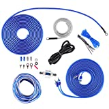 Skar Audio 8 Gauge OFC Complete Amplifier Installation Wiring Kit, SKAR8MANL-OFC