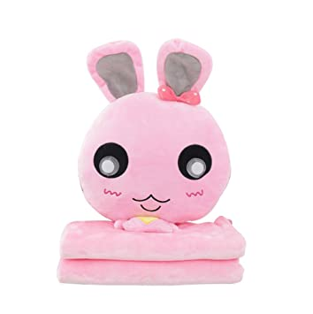Amazon.com: CNDragon Cute Cartoon Rabbit Throw Pillows ...