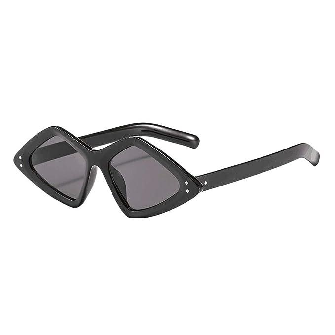 BOBOLover Gafas de sol estilo Trendy Gradient con borde ...