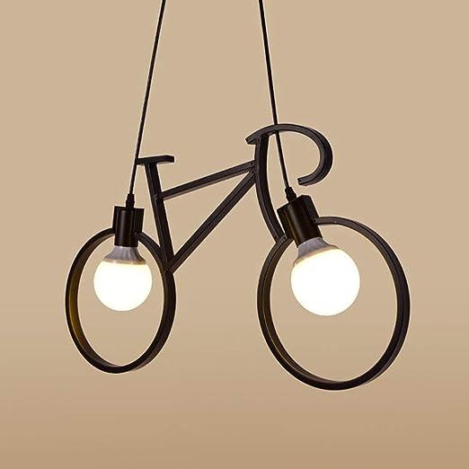 CCDZ Retro Industrial Araña de Luces Personalidad Creativa ...