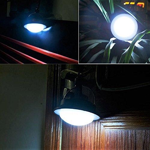 SUBOOS LED Portable Camping Tent Umbrella Night Light Lamp Lantern Outdoor Camping Hiking Zhentai FBA/_SS-8503