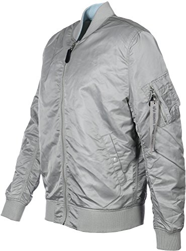 Alpha Reversible 1 Industries Jacket Lw Ma Silver Vf P47Prx