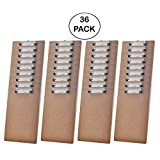 Acrimet Clipboard Letter Size Low Profile Clip (Hardboard) (36 Pack)
