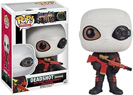POP! Vinilo - Suicide Squad: Deadshot Masked