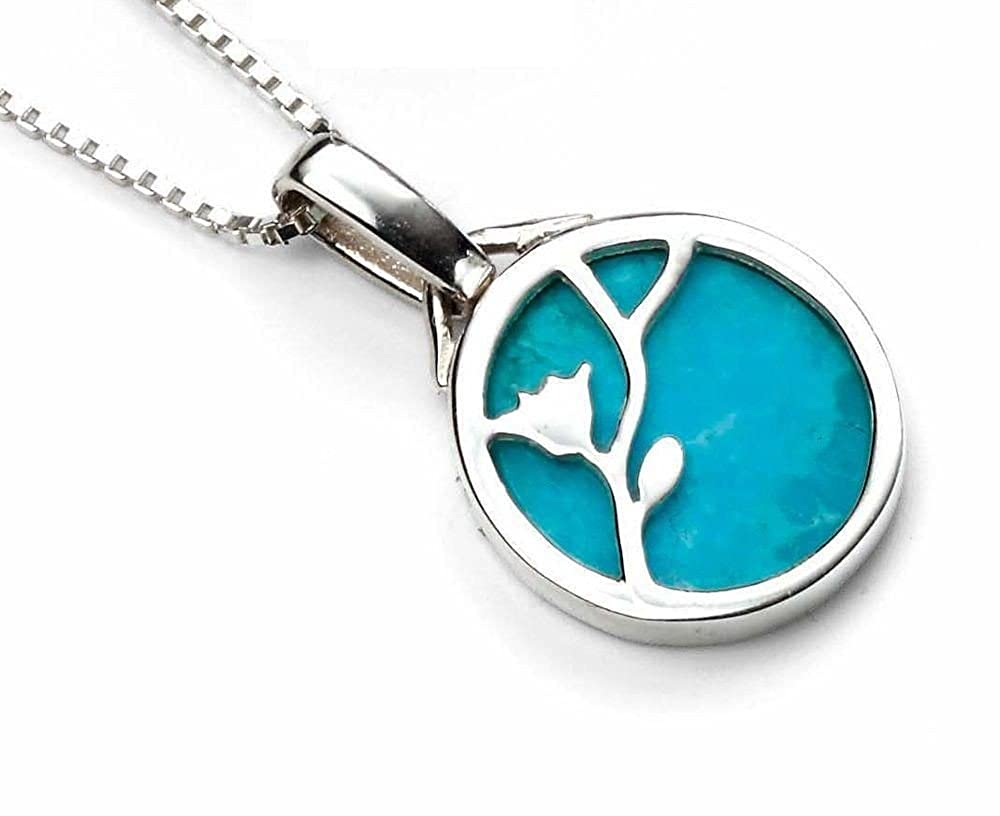 My-jewellery 925 Silver Turquoise pendant necklace 20 51