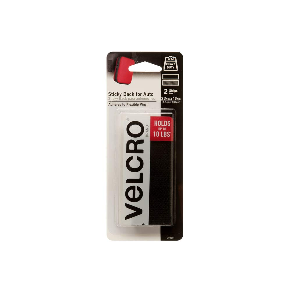 Amazon.com: VELCRO Brand Industrial Strength Fasteners | Auto, RV, Boat Adhesive | Heavy Duty Strength for Dashboards & Consoles | Vinyl Compatible ...