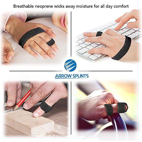 Arrow Splints Mallet Finger Splint | Trigger Finger Brace