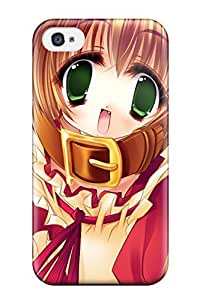Tpu Ortiz Bland Shockproof Scratcheproof Anime Girls 50 Hard Case Cover For Iphone 4/4s