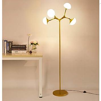 POPA Dormitorio de la lámpara de pie Nordic Minimalista Sala ...