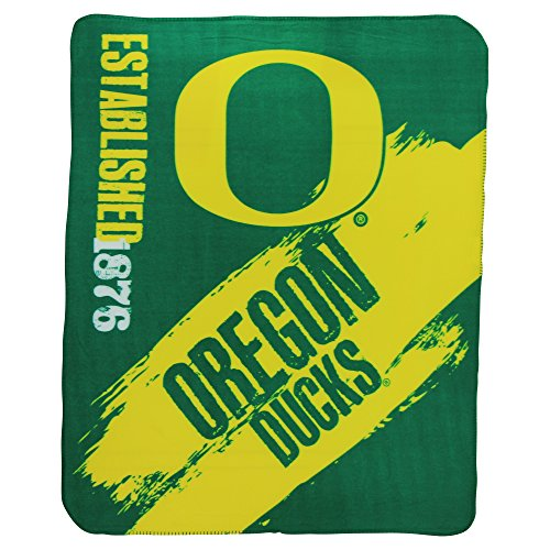 (The Northwest Company NCAA Collegiate School Logo Fleece Blanket (Oregon Ducks, 50