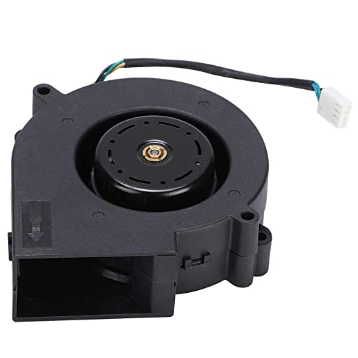 Ventilador centrífugo, 12V Rodamiento de bolas doble Ventilador de ventilador de enfriamiento sin escobillas DC Ventilador de ventilador de aire centrífugo de alta velocidad: Amazon.es: Industria, empresas y ciencia