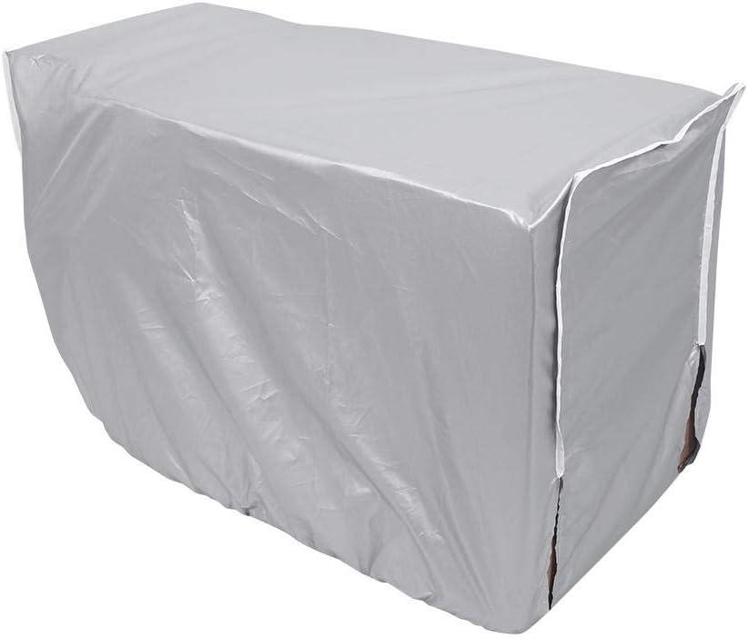 Couverture ext/érieure de climatiseur Anti-poussi/ère Anti-Neige imperm/éable Sunproof pour la Maison 3 Tailles 86 * 32 * 56cm Lazmin Couverture imperm/éable de climatiseur