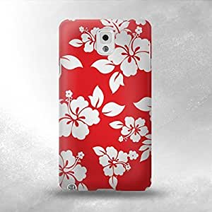 Hu Xiao Hawaiian Hibiscus Pattern - Samsung Galaxy Note 3 Back Cover case cover - Full iSaVyC3RZnY Wrap Design
