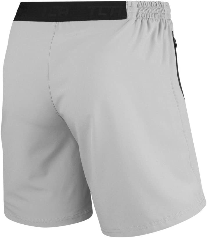 TCA Mens Elite Tech Lightweight Running or Gym Training Shorts with Zip Pockets