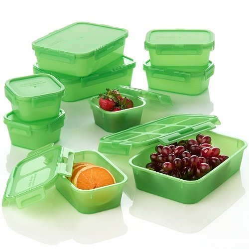 Debbie Meyer Lockin' Green Boxes 18-piece Lunch Set Debbie Meyer Green Boxes