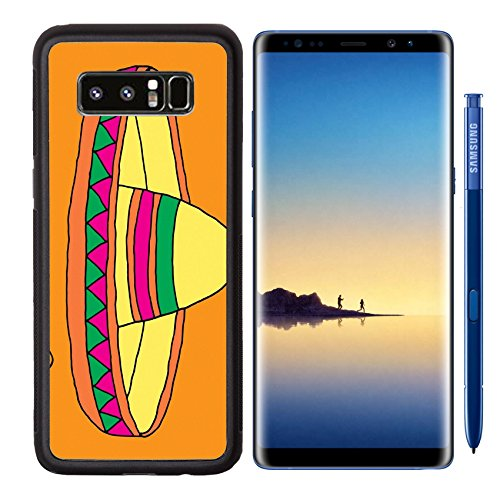 MSD Premium Samsung Galaxy Note8 Aluminum Backplate Bumper Snap Case IMAGE ID: 38906381 Poster for fiesta time with colorful hand drawn attributes of mexican holiday Cinco de Mayo banner Hand Drawn Personalized Christmas Cards