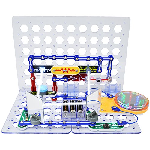 Snap Circuits 3D Illumination Electronics Exploration Kit | Over 150 STEM Projects | 4-Color Project Manual | 50+ Snap Modules | Unlimited Fun by Snap Circuits (Image #5)