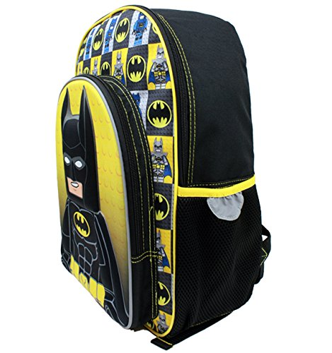Lego Batman 3D Molded 16 inch Backpack - Officially Licensed