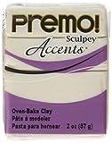Polyform Premo! Sculpey Polymer Clay 2 Oz: Pearl