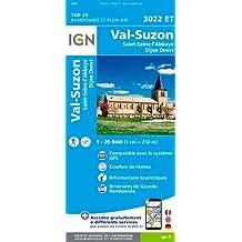 Val-Suzon / St-Seine-l'Abbaye / Dijon Ouest 2016: IGN.3022ET