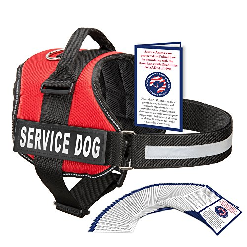 Industrial Puppy Service Dog Harness With Hook and Loop Stra