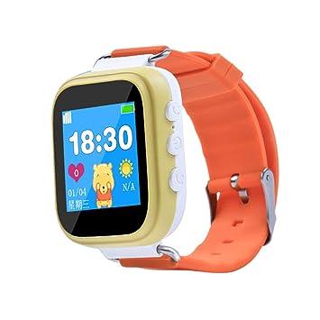 FEDBNET Reloj Inteligente para niños, Q80 versión de botón ...
