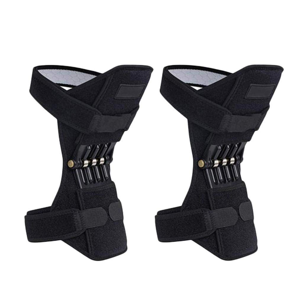 Joint Supports Knee Braces, Power Lifts Knee Protection Booster, Knee Stabilizer Pads Protective Gear with Powerful Rebounds Spring Force, Health Supplies by Yeshom