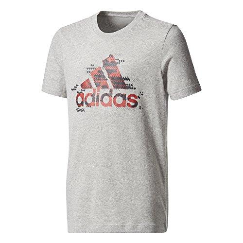 adidas Jungen Bos Shirt T-Shirt Grey/Brgrin