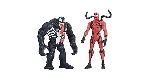 Amazon.com: Marvel Venom Venom & Carnage Figura 2 unidades ...