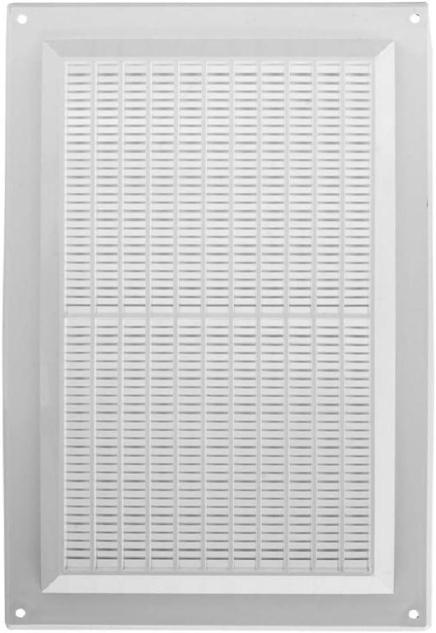 250 x 170 mm, 25 x 17 cm, pl/ástico ABS Rejilla de ventilaci/ón color blanco