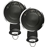 Discount Keyless Entry Remote Control Car Key Fob Clicker For Mini Cooper KR55WK49333 (2 Pack)