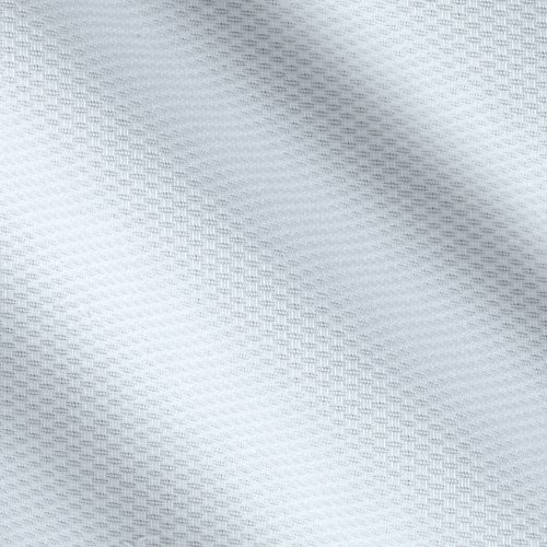 Textile Creations Cotton Pique White Fabric By The Yard