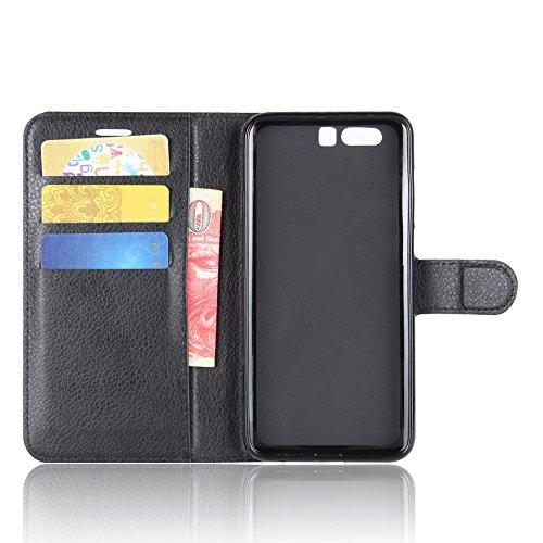 Manyip Funda Huawei Honor 9,Caja del teléfono del cuero,Protector de Pantalla de Slim Case Estilo Billetera con Ranuras para Tarjetas, Soporte Plegable, Cierre Magnético(JFC6-19) C
