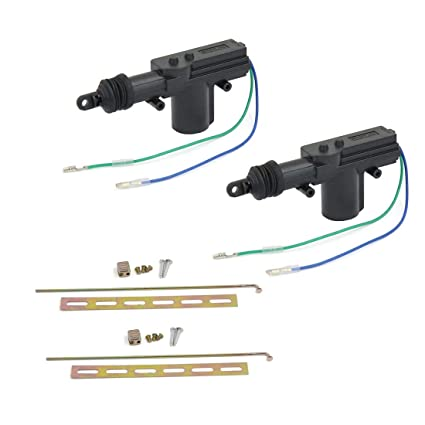 amazon com: sydien 2 wire universal vehicle car power door lock actuator  kit for central locking system dc 12v: automotive