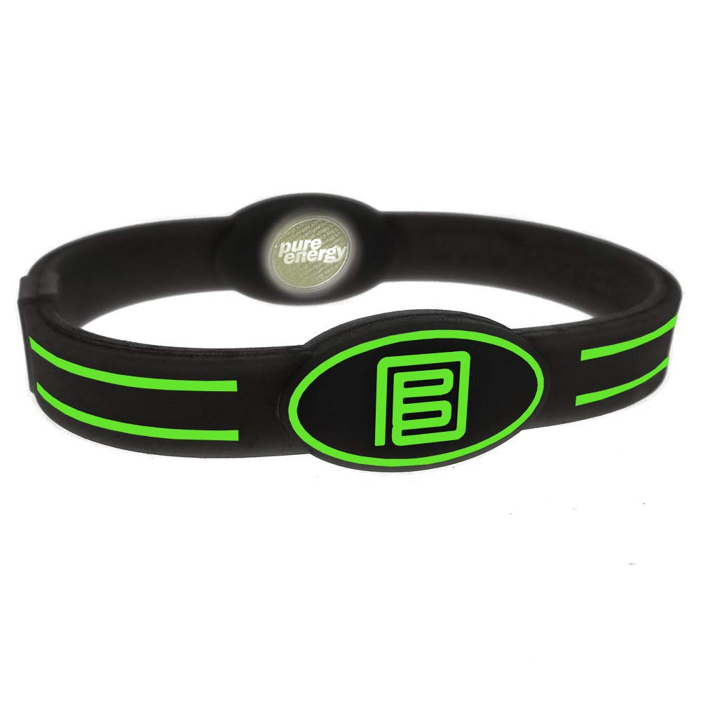 Pure Energy Band - Flex - Black/Green (X-Small)