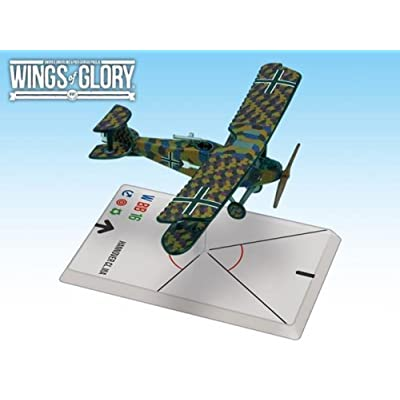 Ares Games Wings of Glory WWI: Hannover CL.IIIa (Hager/weber): Toys & Games