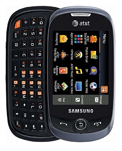 Samsung Flight II A927 Unlocked GSM 3G Touchscreen/QWERTY Slider Phone - Gray